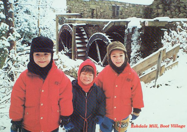 The Miller's Boys at Eskdale Mill