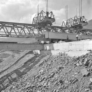 M6 under construction