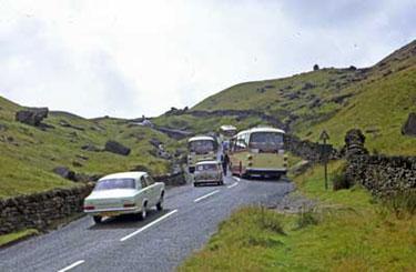 Traffic congestion, Kirkstone Pass.