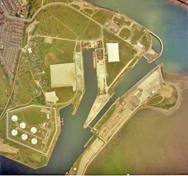 Aerial views of Barrow