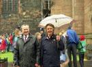 View: ct21374 Carlisle, visit of Queen Elizabeth